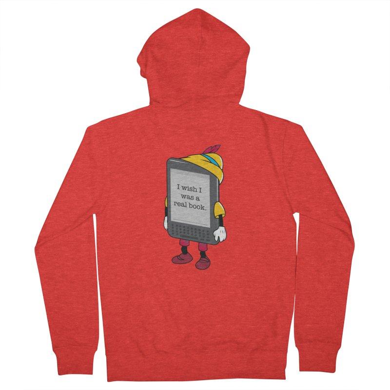 Wish upon an e-book Women's Zip-Up Hoody by Daniel Stevens's Artist Shop