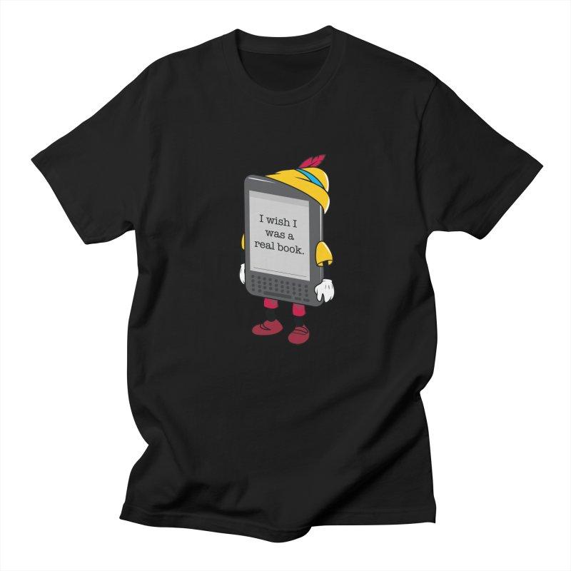 Wish upon an e-book Women's Regular Unisex T-Shirt by danielstevens's Artist Shop