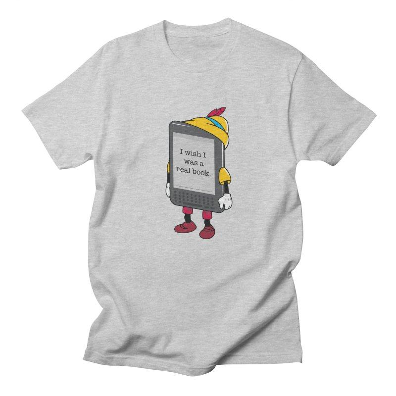 Wish upon an e-book Men's Regular T-Shirt by danielstevens's Artist Shop