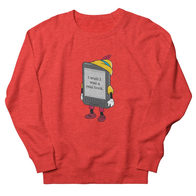 Wish upon an e-book Men's Sweatshirt by Daniel Stevens's Artist Shop