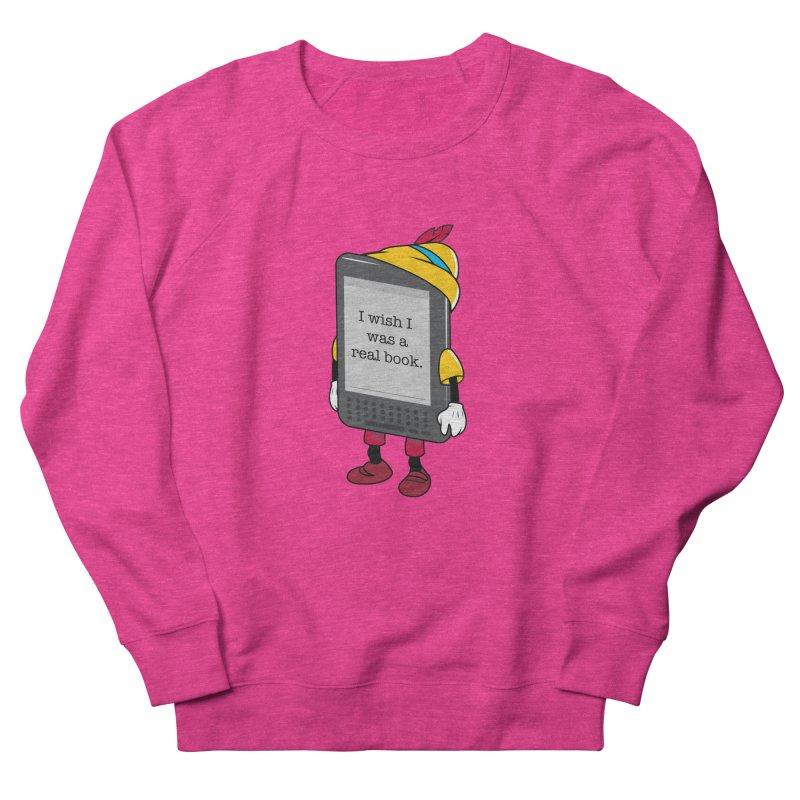 Wish upon an e-book Men's French Terry Sweatshirt by danielstevens's Artist Shop