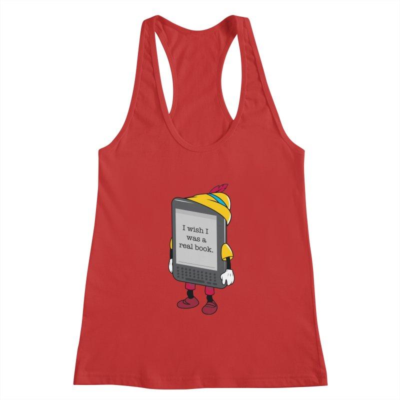 Wish upon an e-book Women's Tank by Daniel Stevens's Artist Shop