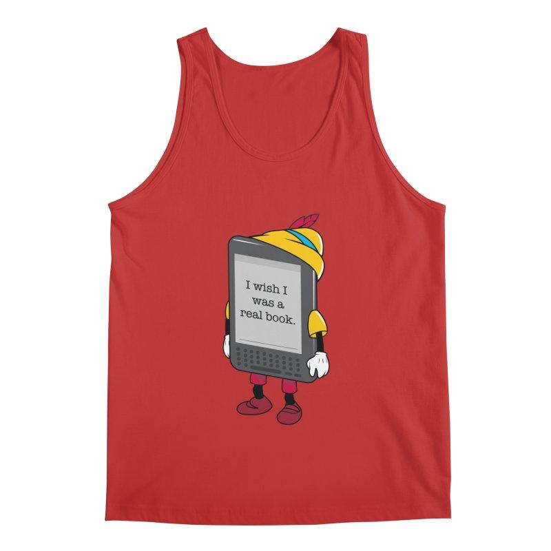 Wish upon an e-book Men's Tank by Daniel Stevens's Artist Shop