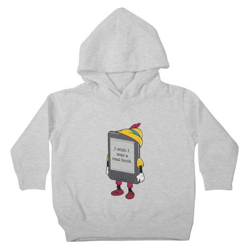 Wish upon an e-book Kids Toddler Pullover Hoody by danielstevens's Artist Shop