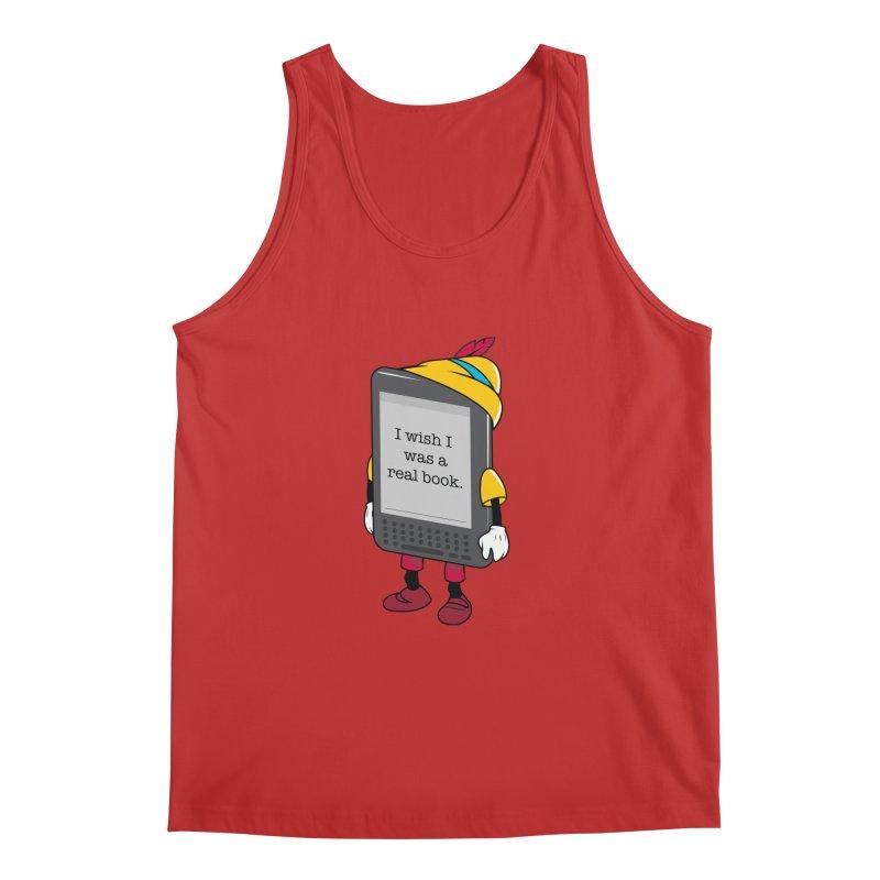 Wish upon an e-book Men's Regular Tank by Daniel Stevens's Artist Shop