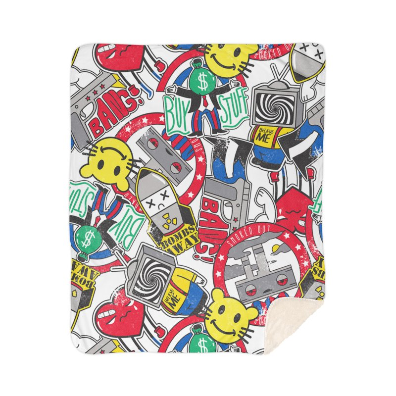 Addict Home Blanket by Daniel Stevens's Artist Shop