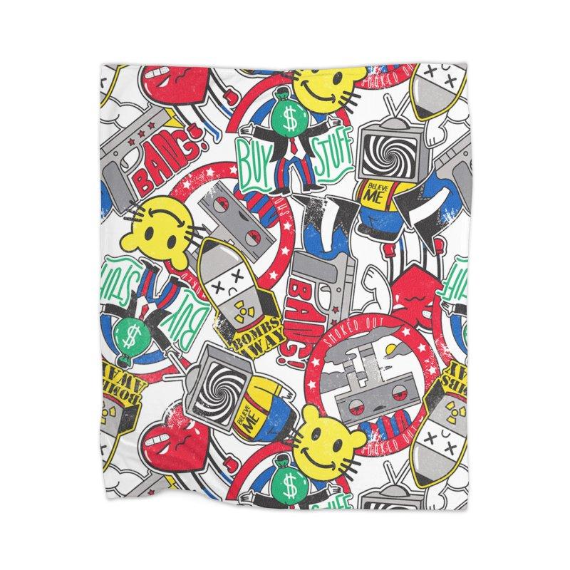 Addict Home Blanket by Daniel Stevens's Artist Shop