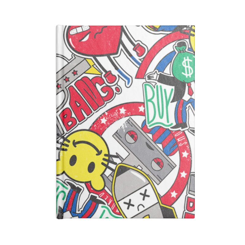 Addict Accessories Notebook by Daniel Stevens's Artist Shop