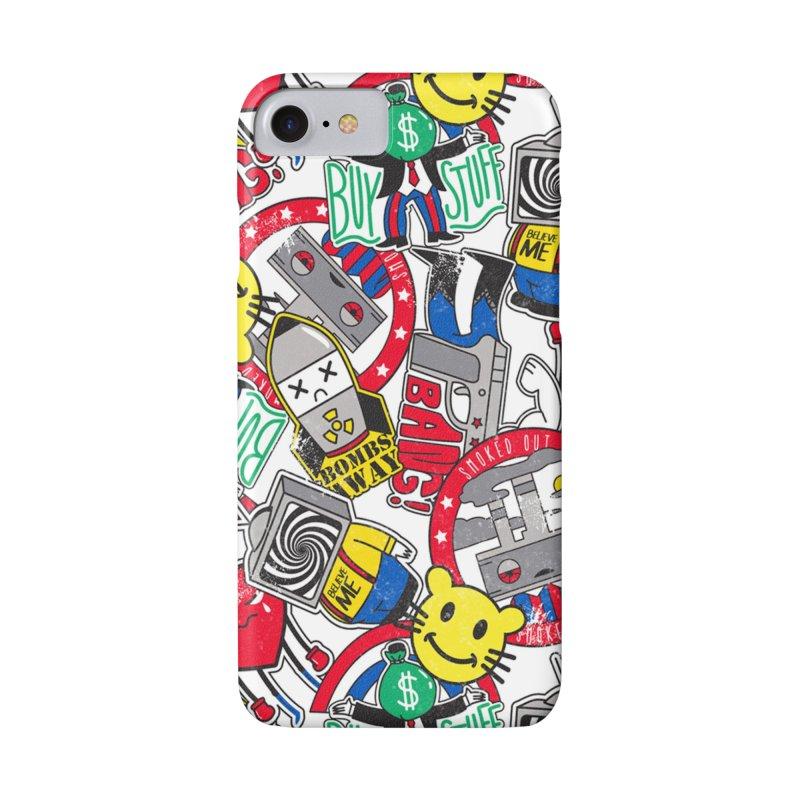 Addict Accessories Phone Case by Daniel Stevens's Artist Shop
