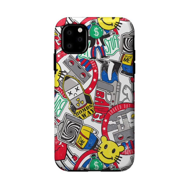 Addict Accessories Phone Case by Daniel Stevens's Artist Shop