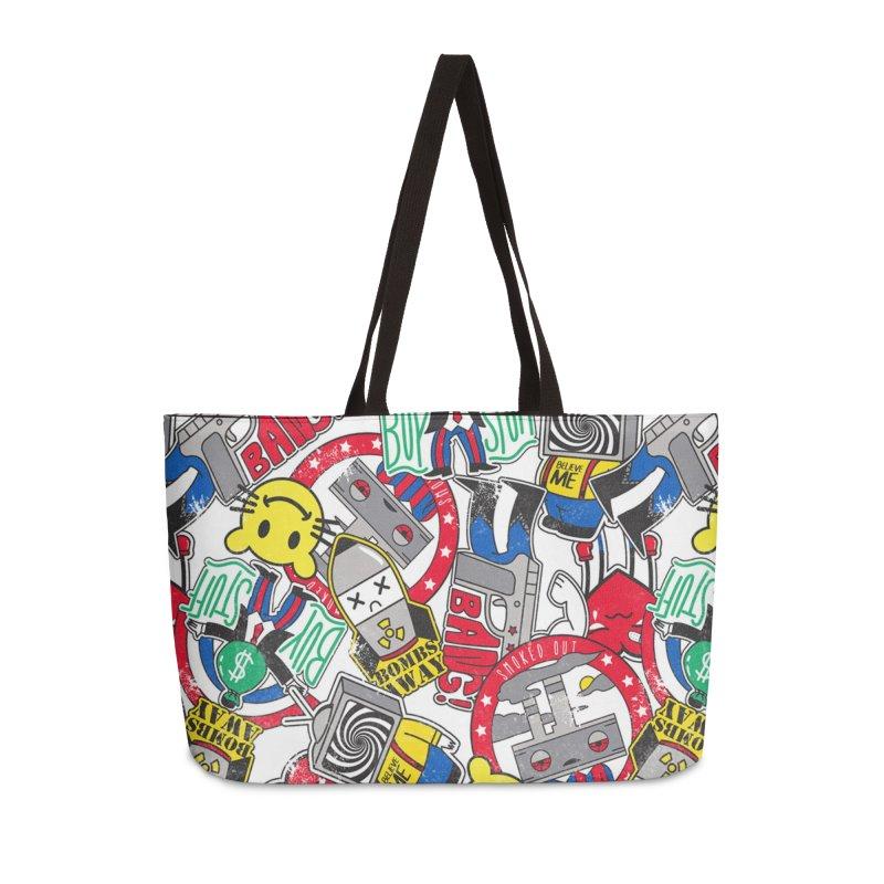 Addict Accessories Bag by Daniel Stevens's Artist Shop