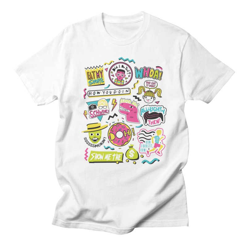 Say Whaaat! Men's Regular T-Shirt by danielstevens's Artist Shop