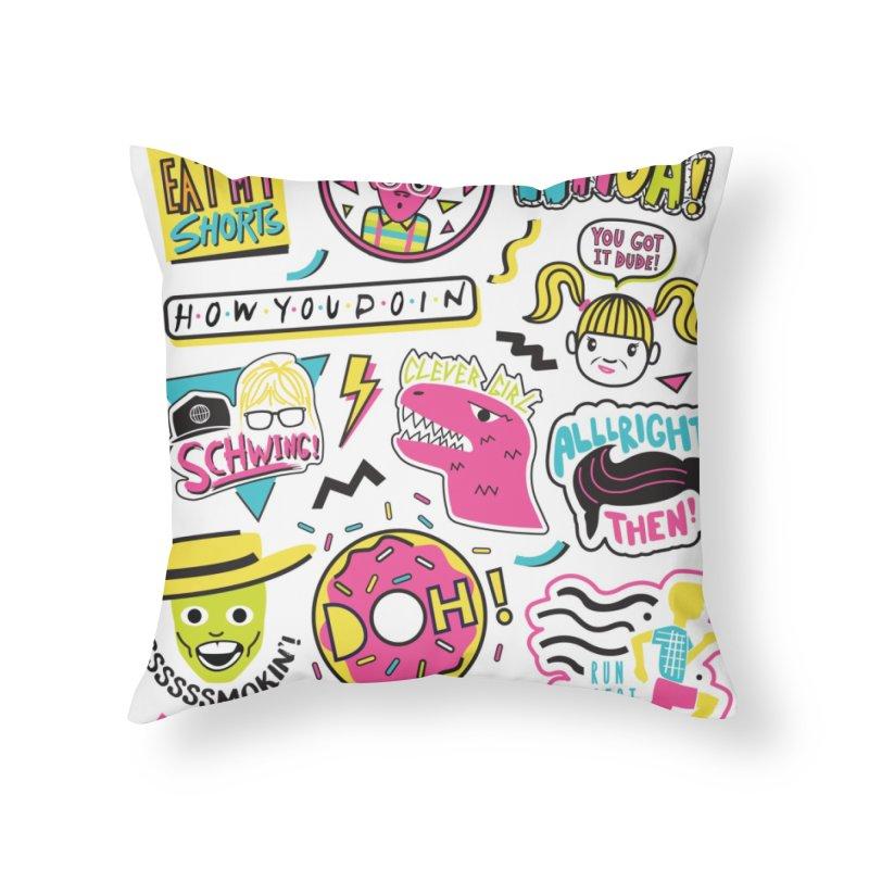 Say Whaaat! Home Throw Pillow by danielstevens's Artist Shop
