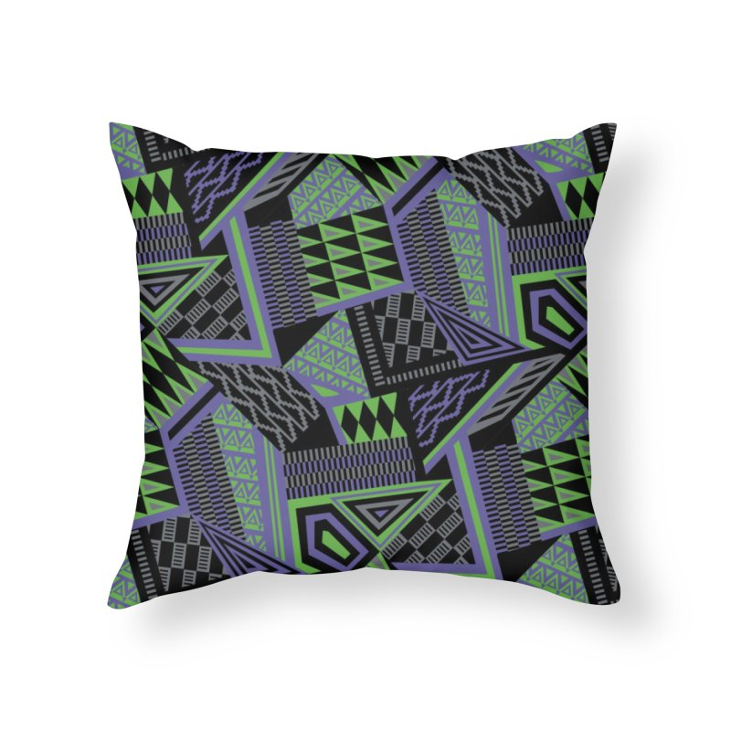 Royal in Throw Pillow by Daniel Stevens's Artist Shop