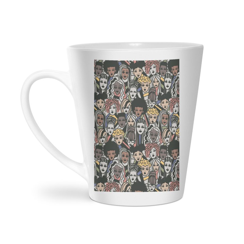 Connected Accessories Latte Mug by Daniel Stevens's Artist Shop