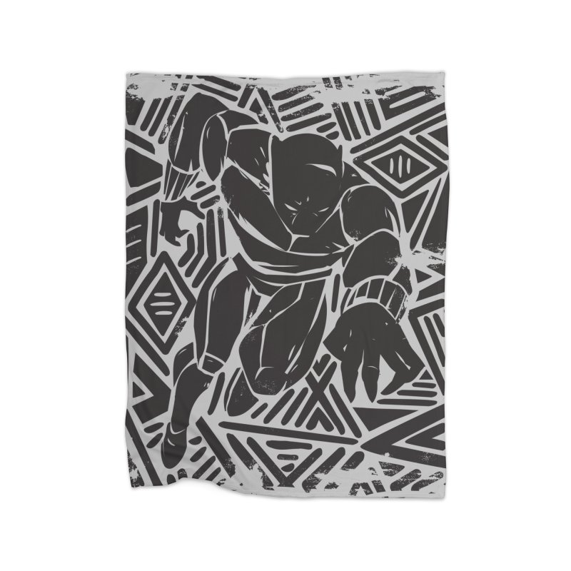 Panther Home Blanket by danielstevens's Artist Shop
