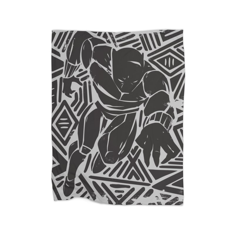 Panther Home Blanket by Daniel Stevens's Artist Shop