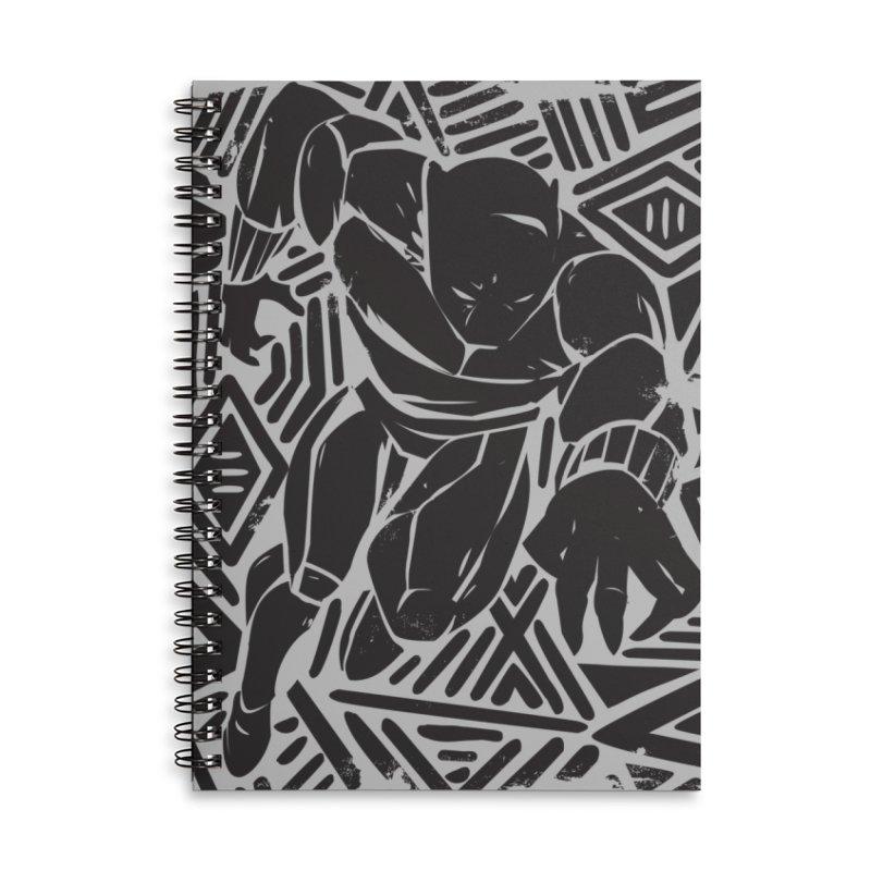 Panther Accessories Notebook by Daniel Stevens's Artist Shop