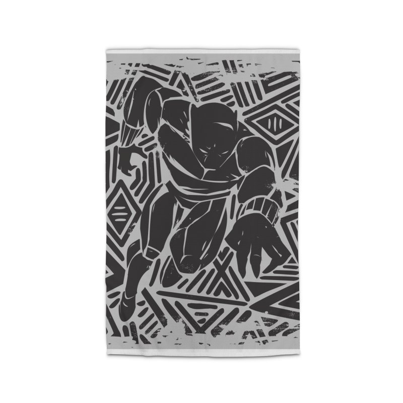 Panther Home Rug by Daniel Stevens's Artist Shop