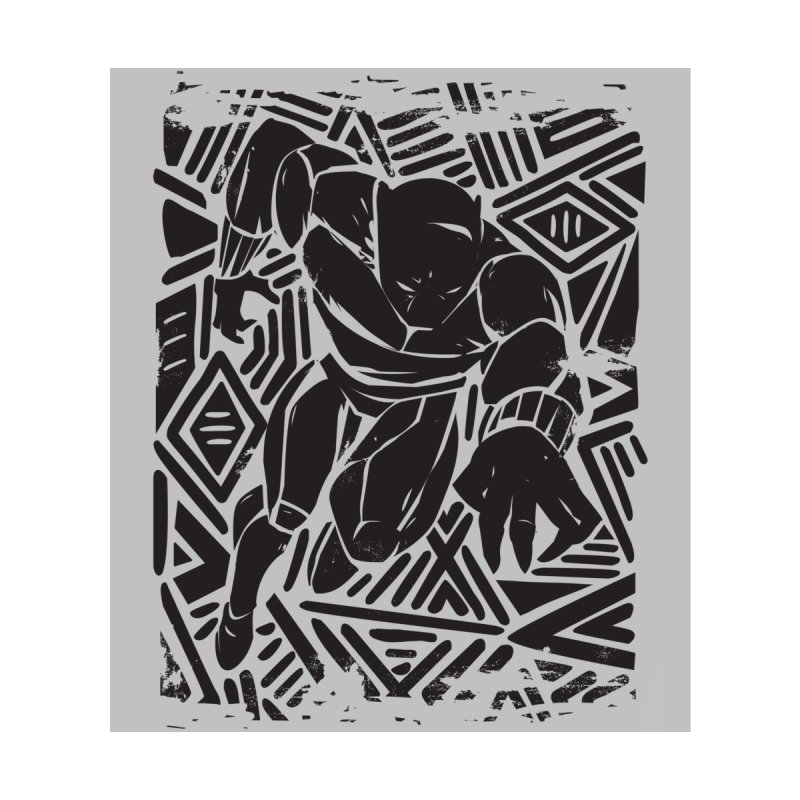 Panther Home Rug by Daniel Stevens's Artist Shop
