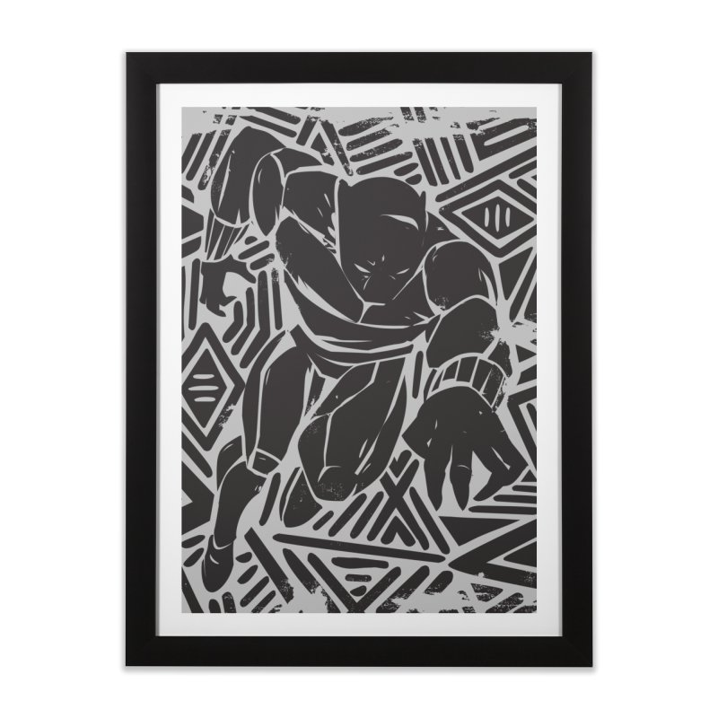 Panther Home Framed Fine Art Print by danielstevens's Artist Shop