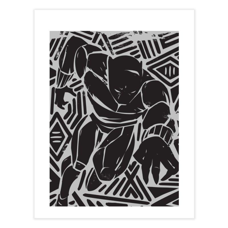 Panther Home Fine Art Print by Daniel Stevens's Artist Shop