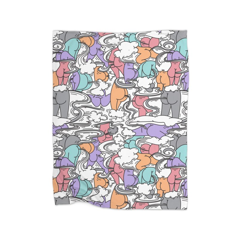 Everybody Farts Home Blanket by Daniel Stevens's Artist Shop