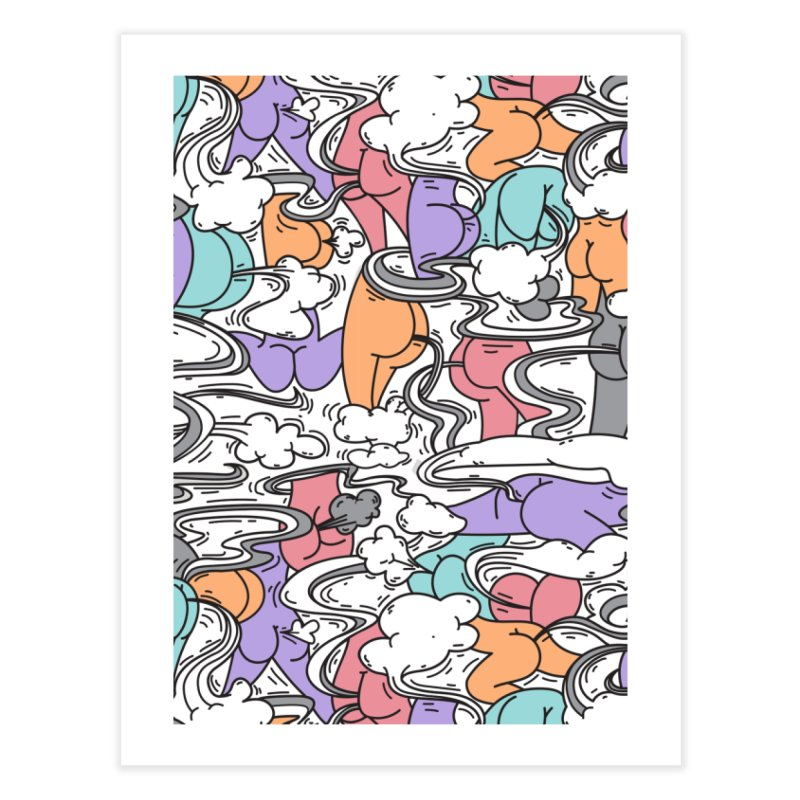 Everybody Farts Home Fine Art Print by danielstevens's Artist Shop