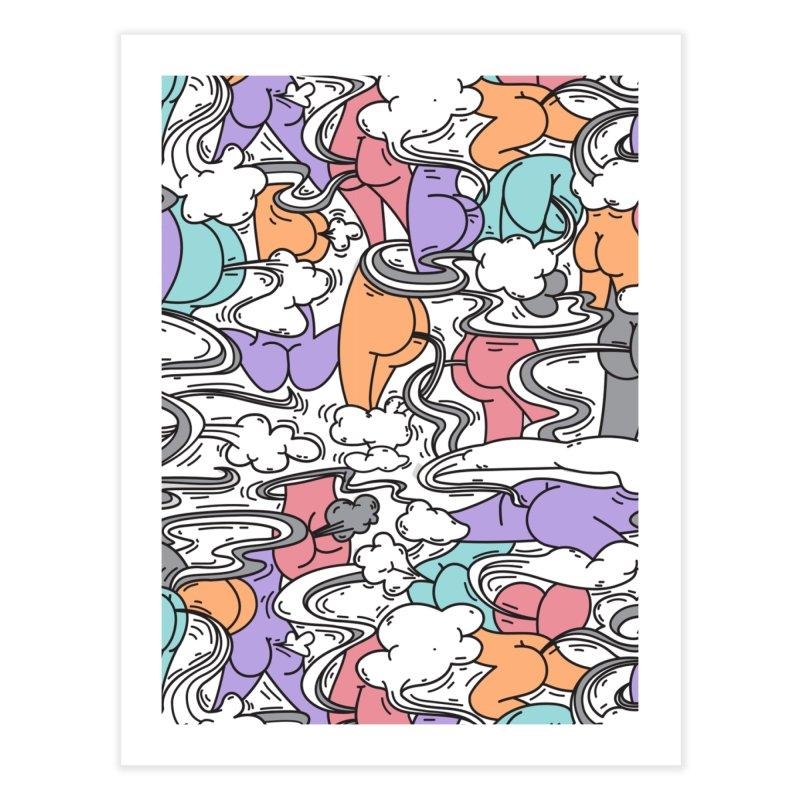 Everybody Farts Home Fine Art Print by Daniel Stevens's Artist Shop