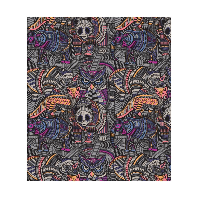Tribe Home Stretched Canvas by Daniel Stevens's Artist Shop