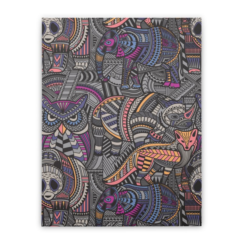 Tribe Home Stretched Canvas by danielstevens's Artist Shop