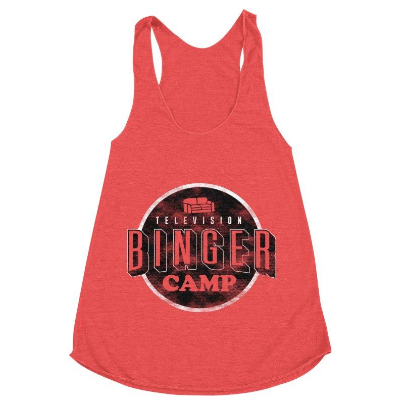 TV Binger Camp Women's Tank by Daniel Stevens's Artist Shop