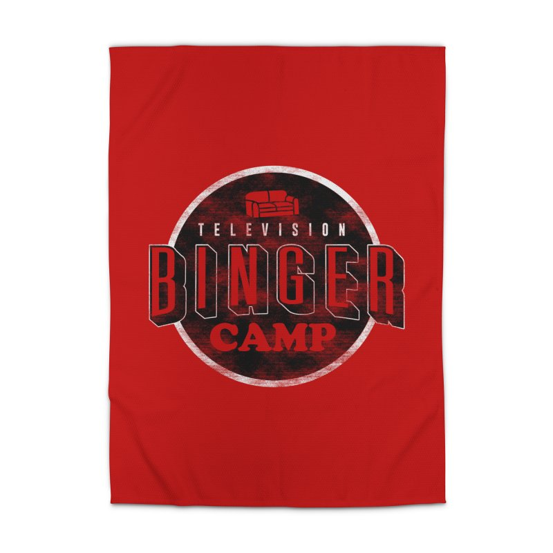 TV Binger Camp Home Rug by Daniel Stevens's Artist Shop