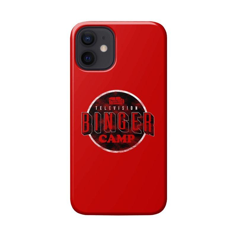 TV Binger Camp Accessories Phone Case by Daniel Stevens's Artist Shop