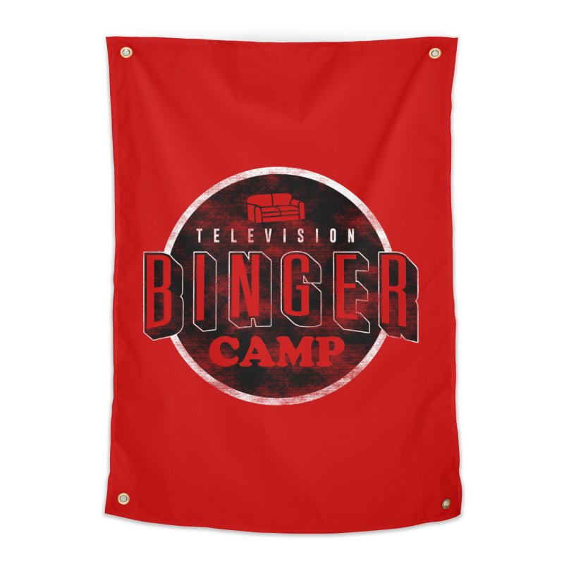 TV BINGER CAMP Home Tapestry by danielstevens's Artist Shop