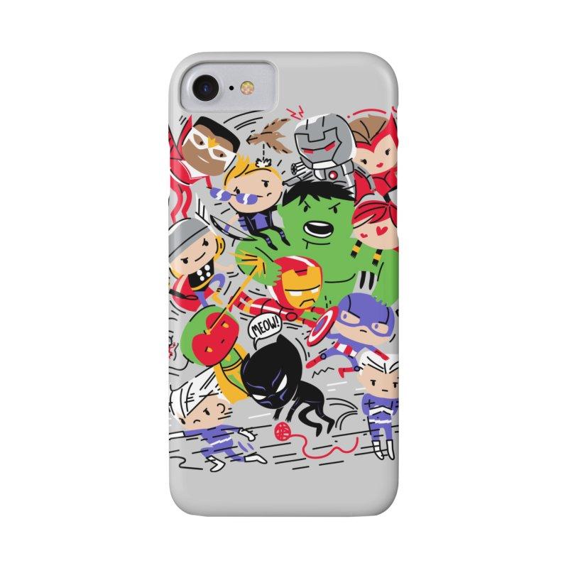 Kidvengers Accessories Phone Case by Daniel Stevens's Artist Shop