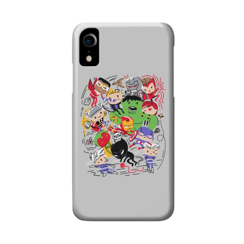 Kidvengers Accessories Phone Case by Daniel Stevens's Artist Shop