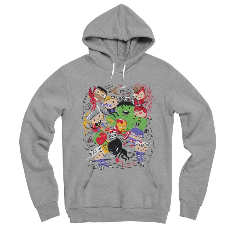 Kidvengers Women's Pullover Hoody by Daniel Stevens's Artist Shop