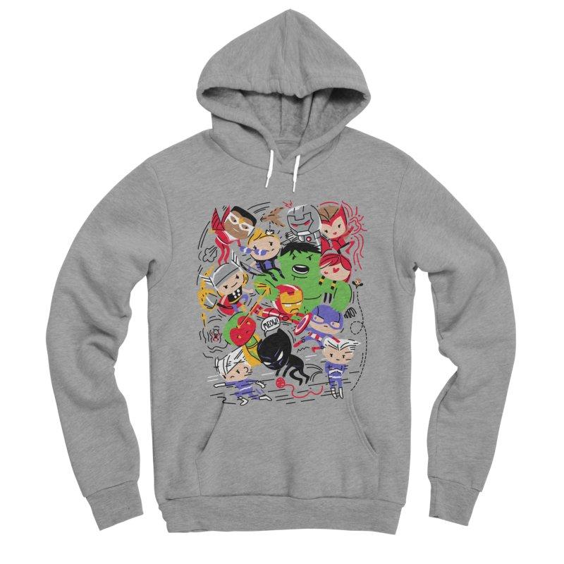 Kidvengers Men's Pullover Hoody by Daniel Stevens's Artist Shop