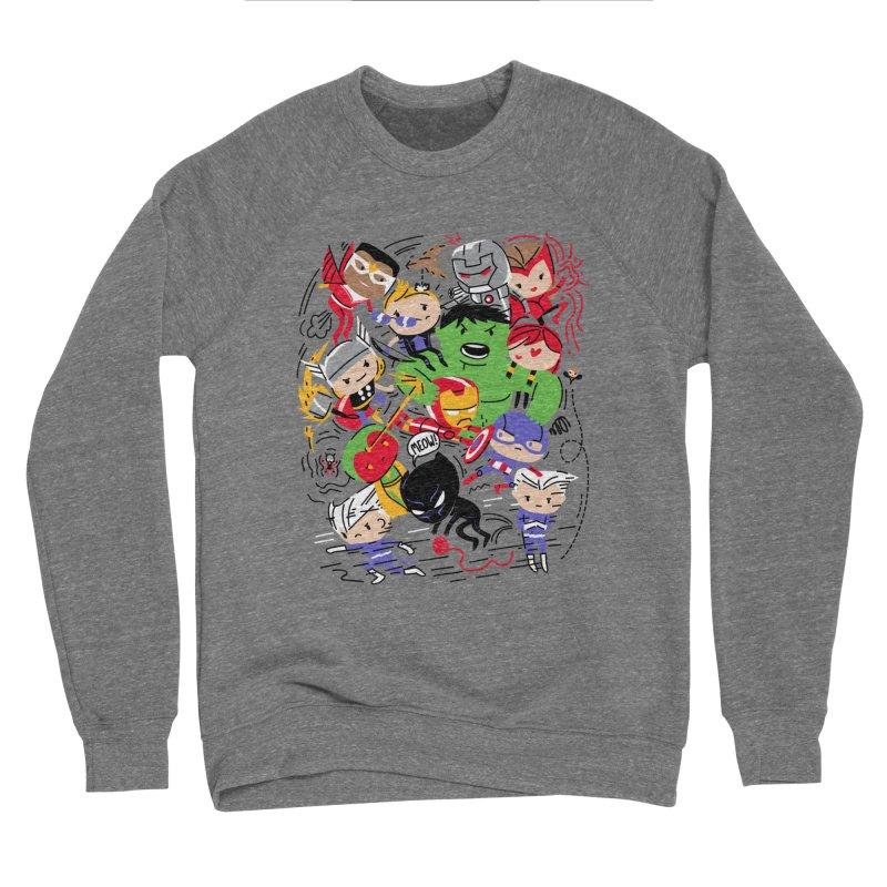 Kidvengers Men's Sweatshirt by Daniel Stevens's Artist Shop