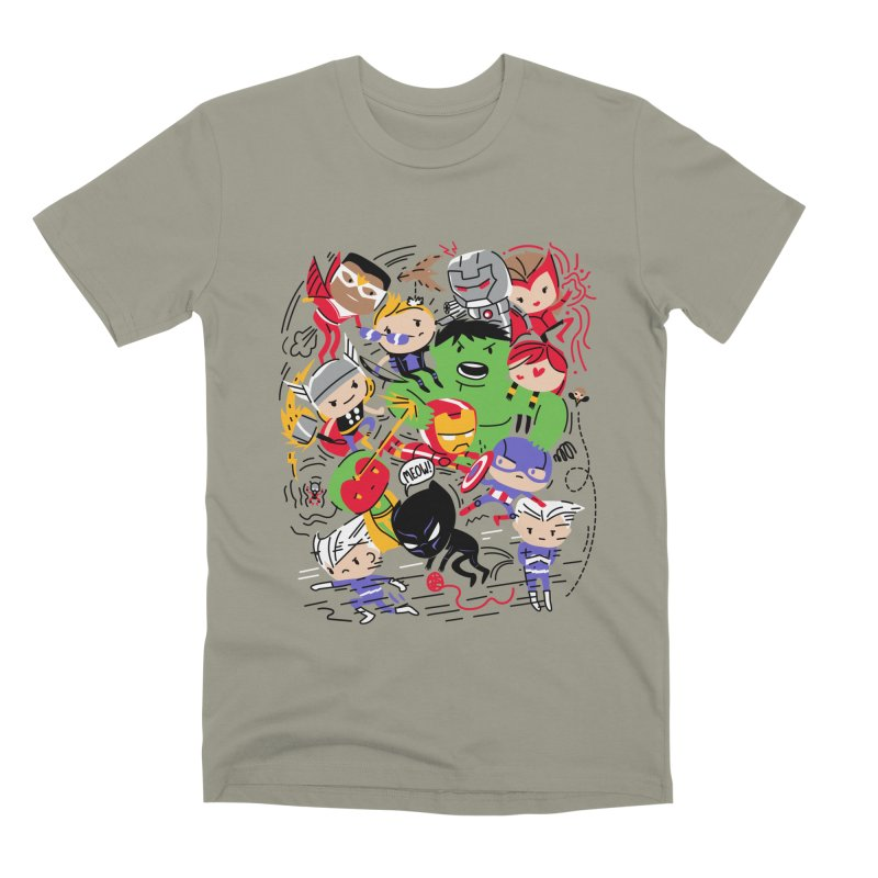 Kidvengers Men's Premium T-Shirt by danielstevens's Artist Shop