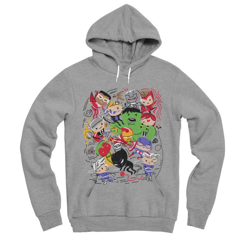 Kidvengers Men's Sponge Fleece Pullover Hoody by danielstevens's Artist Shop