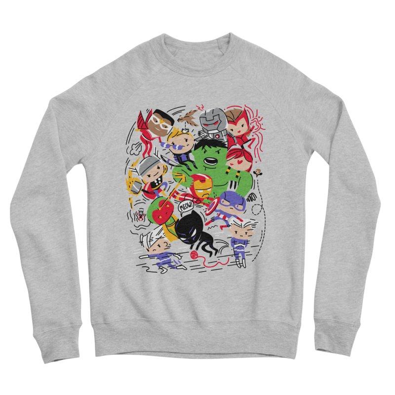 Kidvengers Men's Sponge Fleece Sweatshirt by danielstevens's Artist Shop