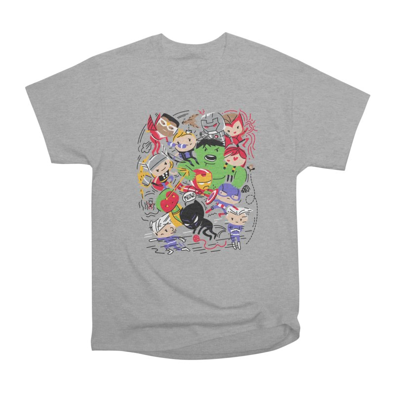 Kidvengers Men's T-Shirt by Daniel Stevens's Artist Shop