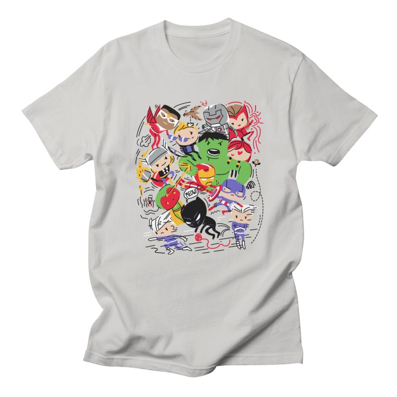 Kidvengers Men's T-Shirt by Daniel Stevens's Artist Shop