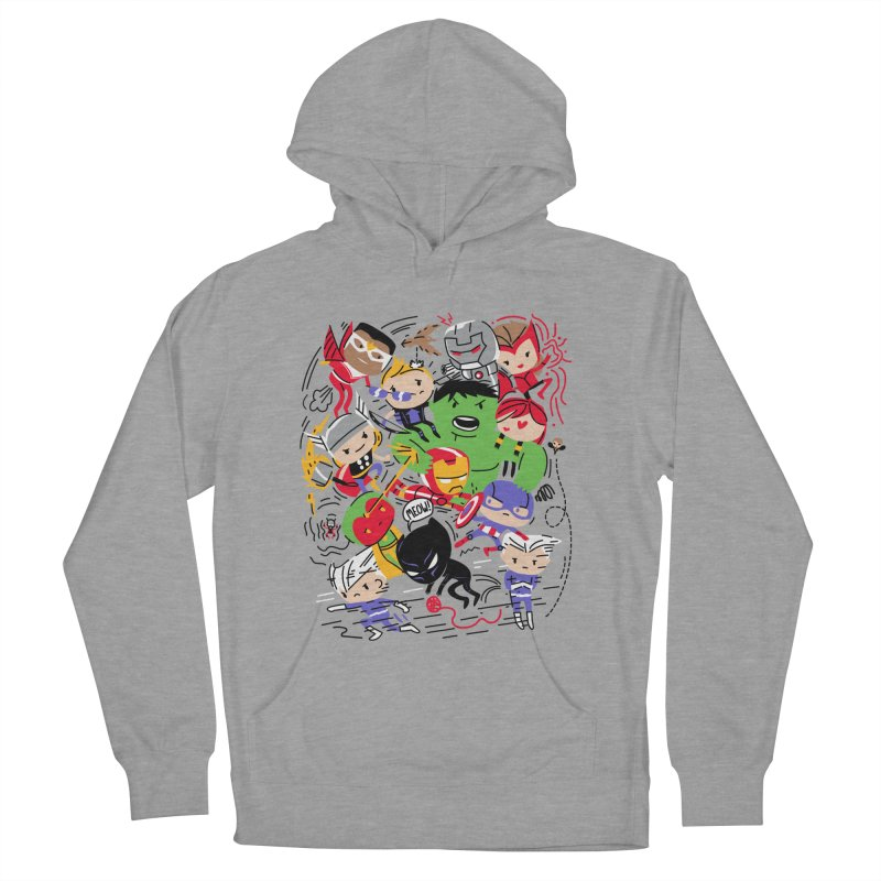 Kidvengers Women's French Terry Pullover Hoody by Daniel Stevens's Artist Shop