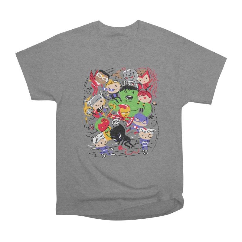 Kidvengers Women's T-Shirt by Daniel Stevens's Artist Shop