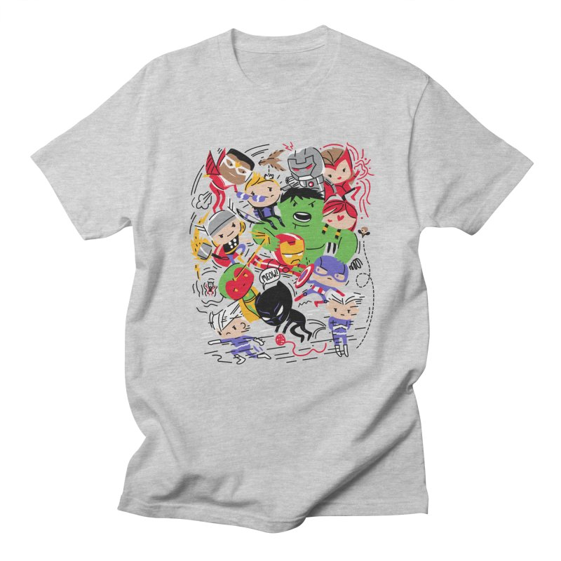 Kidvengers Women's Regular Unisex T-Shirt by danielstevens's Artist Shop