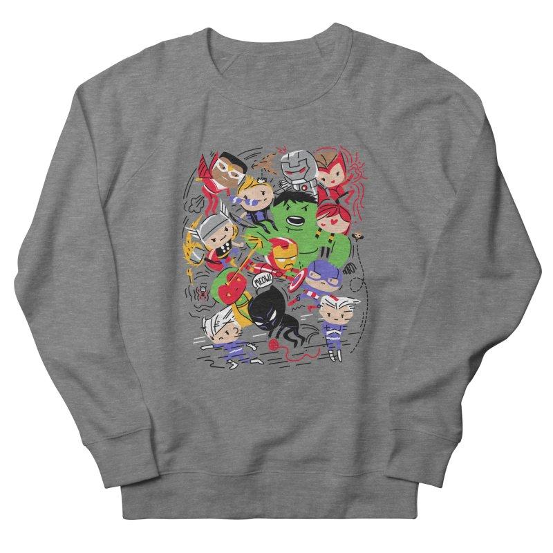 Kidvengers Women's Sweatshirt by Daniel Stevens's Artist Shop