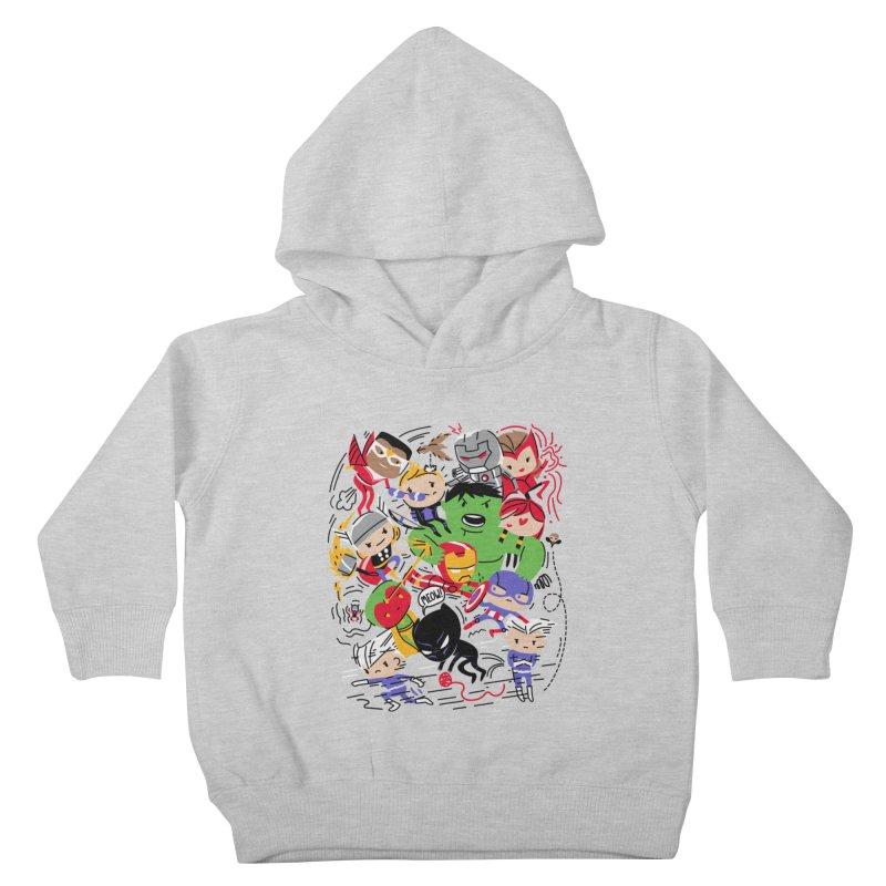 Kidvengers Kids Toddler Pullover Hoody by Daniel Stevens's Artist Shop